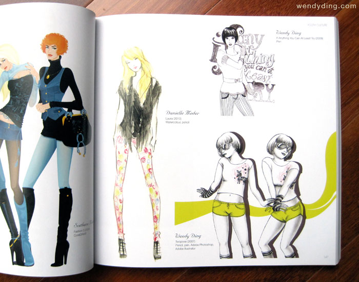 Complete book of fashion illustration 60