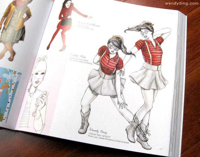Complete book of fashion illustration
